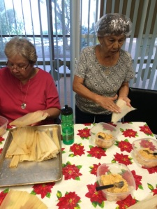 Tamale class attendees